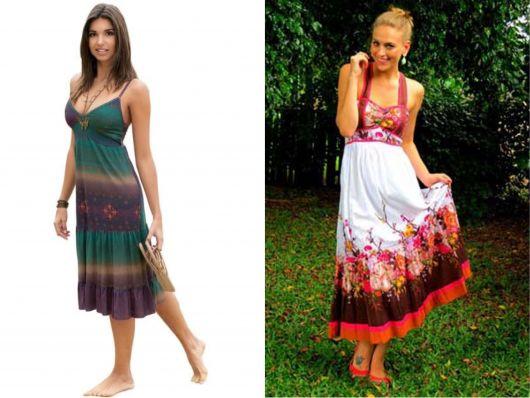 vestidos indianos casuais