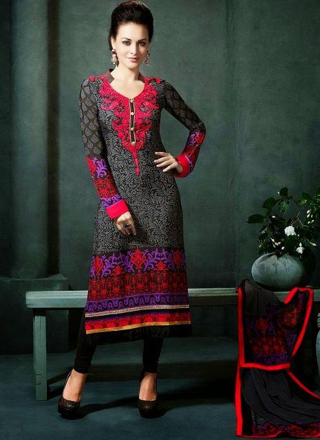 Vestido indiano com calça