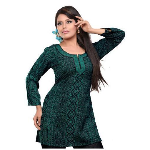 vestido bata plus size verde