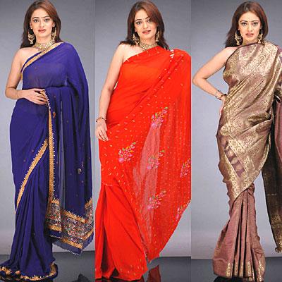 3 modelos de sari
