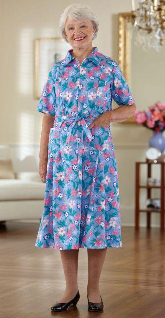 Vestidos para senhoras com 70 anos