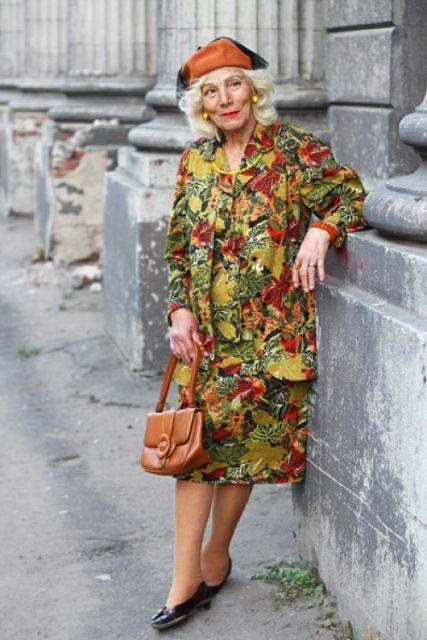 vestidos para senhoras ideias para mulheres de 70