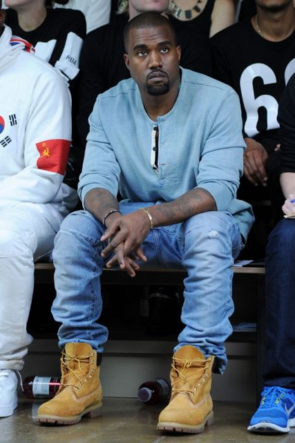 yellow boot kanye west