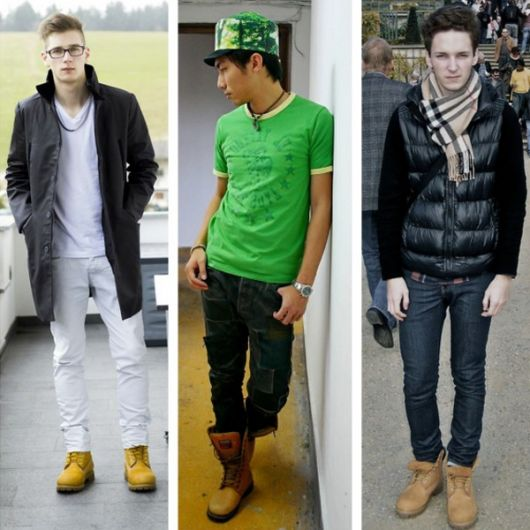 yellow boot masculina estilo casual