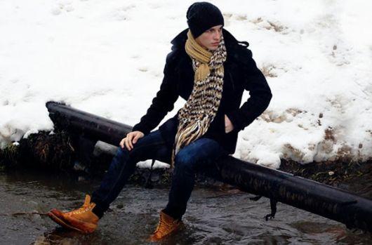 yellow boots masculina inverno