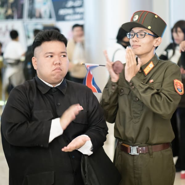 Fantasia do Kim Jong Un improvisada