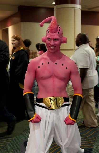 Fantasia do Majin Boo Dragon Ball
