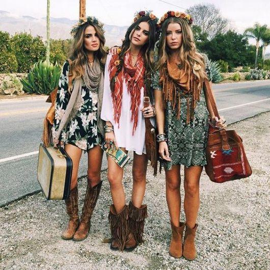 Moda hippie estilosa