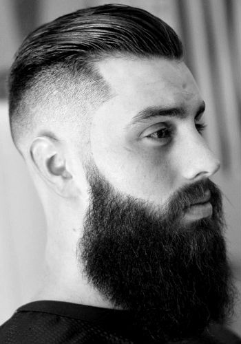 barba cabelo degrade