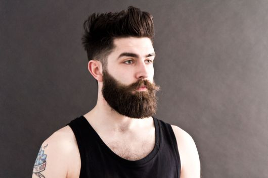 barba grande bem feita