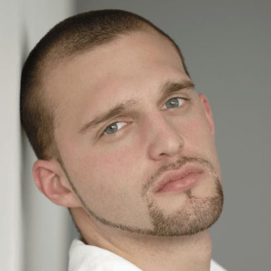 barba rosto redondo