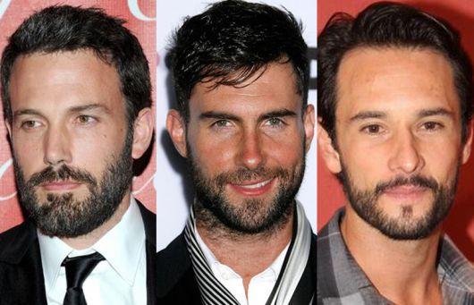 barba rosto triangular como usar