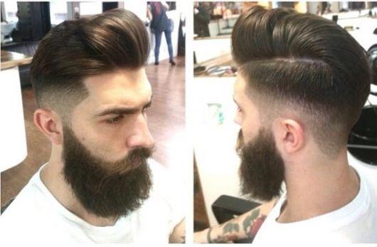 O undercut combina muito bem com vários estilos de barba