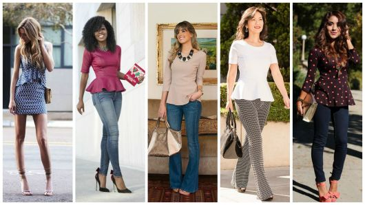 Blusa peplum: dicas e inspirações de looks!