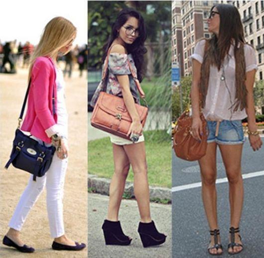 Bolsa Mochila Feminina Como Usar : Bolsa transversal feminina looks e como usar