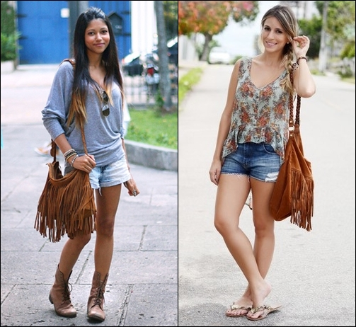 Bolsa Dourada Look : Bolsa transversal feminina looks e como usar