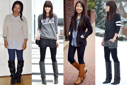 como usar bota country feminina com calça
