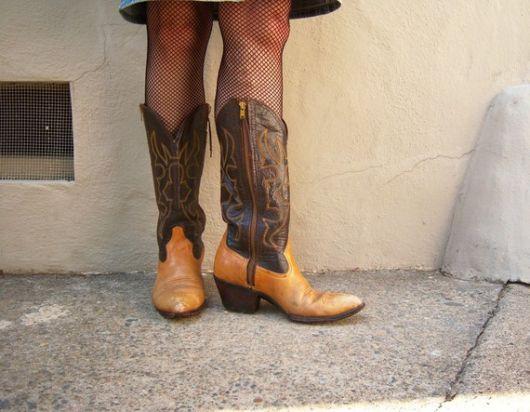 bota country feminina com cano longo