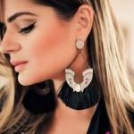 Brinco de franja e leque: modelos, fotos e dicas de looks
