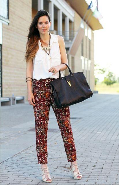 calça pijama com camisa de manga curta