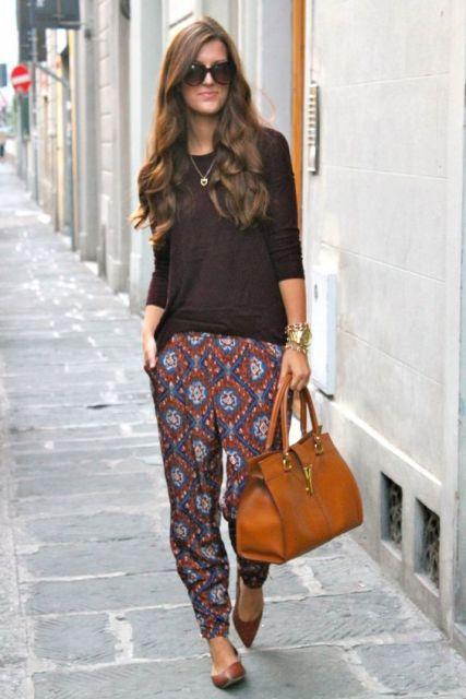 calça pijama de seda
