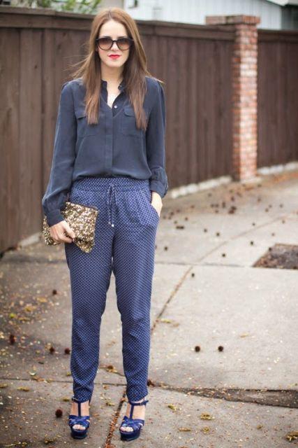 calça pijama para passear
