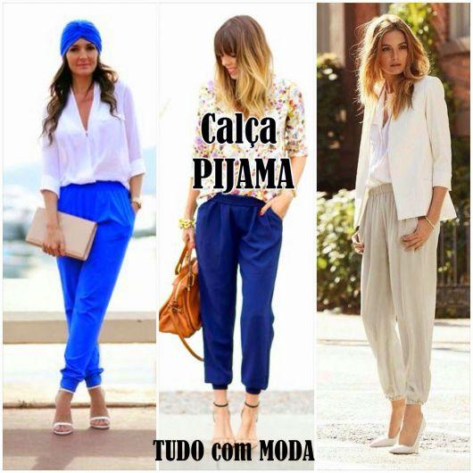 Calça Pijama: Dicas para ficar estilosa e 80 looks