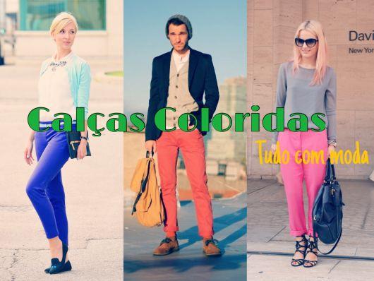 calças coloridas capa