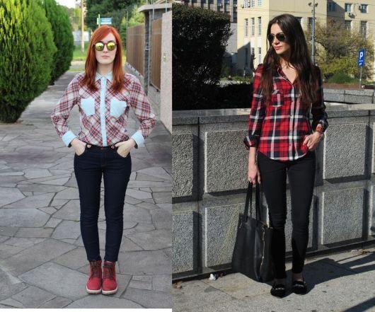 0f4a0e926 Camisa xadrez feminina: Formas de usar e looks sensacionais