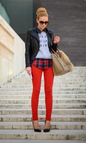camisa xadrez feminina com casacos e moletom