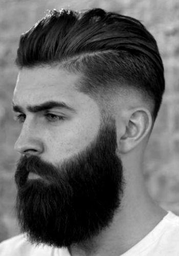 corte degradê com barba