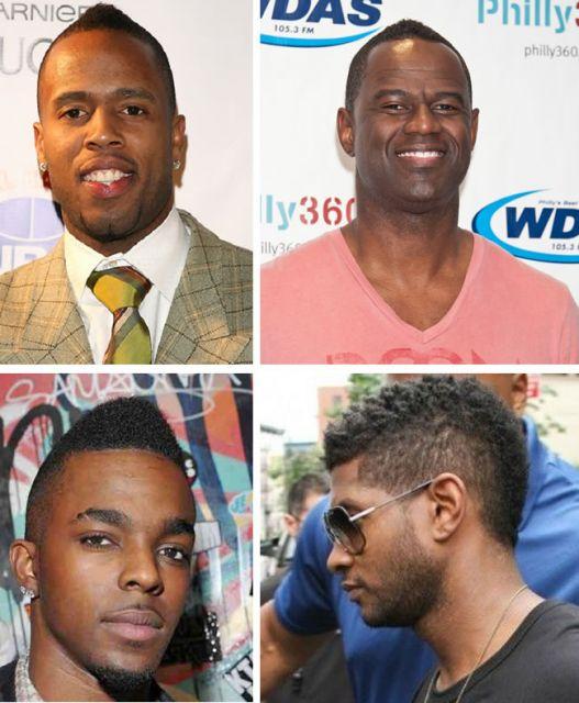 cortes de cabelo crespo masculino moicano afro