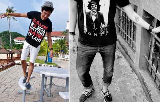 dockside e camiseta