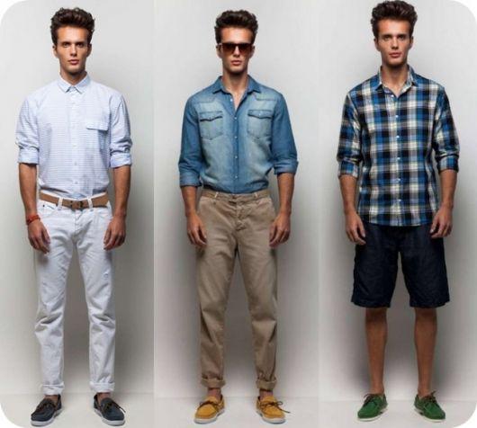 dockside masculino e camiseta