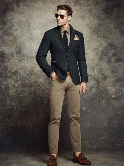esporte fino masculino calça e sapato