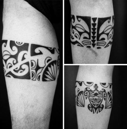 estilo de tatoo maori
