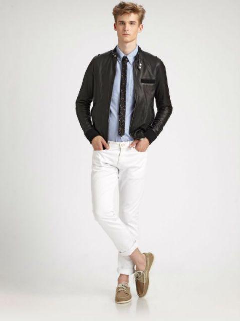 estilo formal dockside masculino