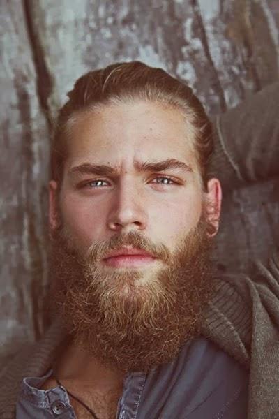 estilo rosto oval barba