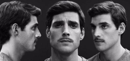 estilos de barba bigode riscado