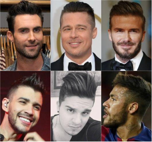 famosos com undercut