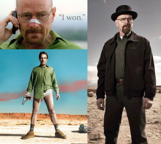 Ideias de fantasias improvisadas masculinas simples e fáceis: Walter White e Heisenberg - Breaking Bad