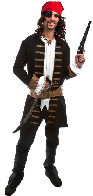fantasia de pirata caseira