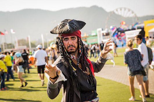 fantasia de pirata inspiração jack
