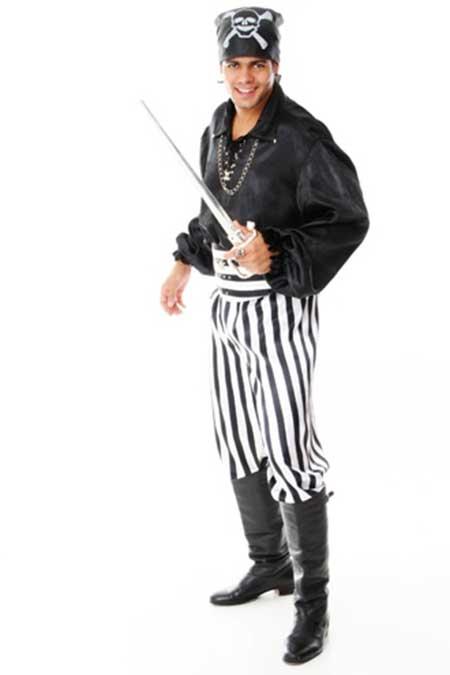 fantasia de pirata masculino como fazer