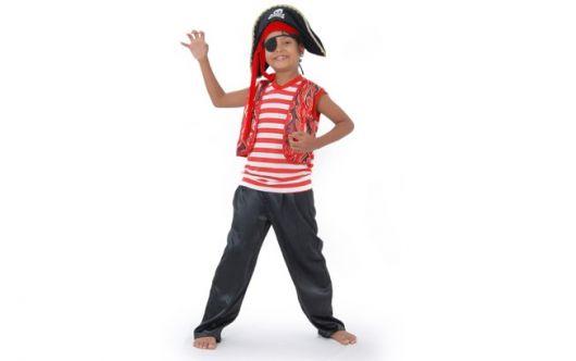 fantasia de pirata masculino crianças como fazer