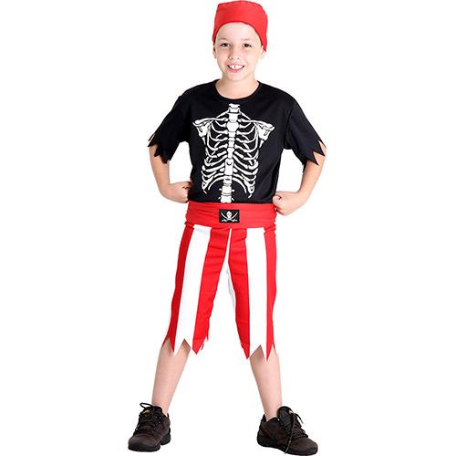 fantasia de pirata masculino crianças