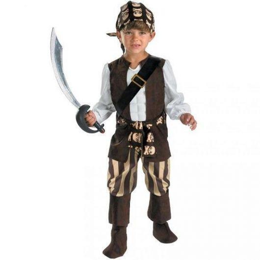 fantasia de pirata masculino infantil como fazer