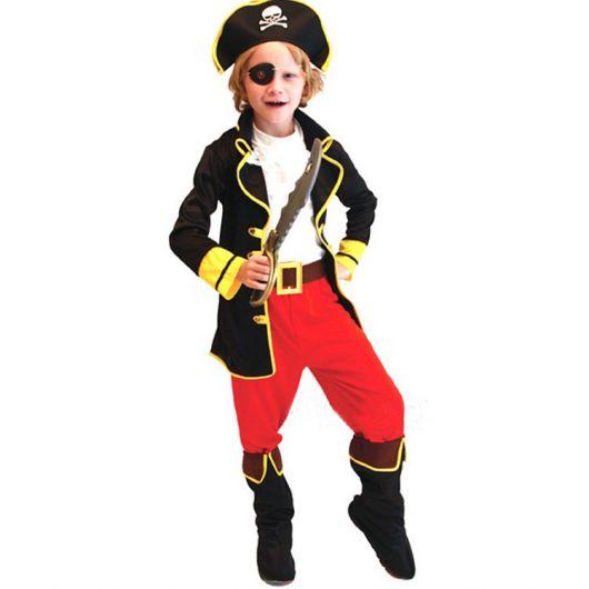 fantasia de pirata masculino infantil