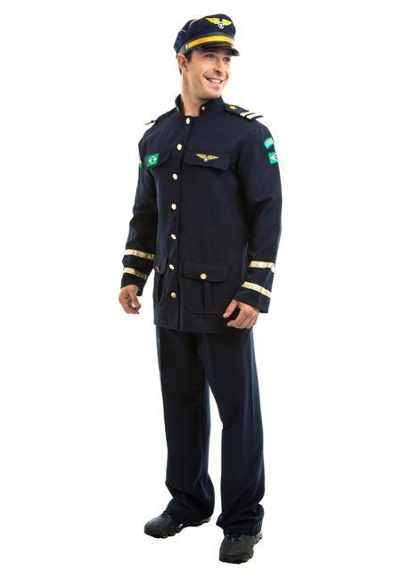 fantasia masculina aviador
