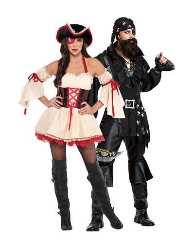 fantasia pirata casal